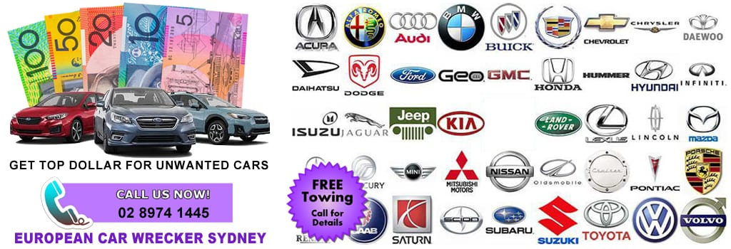Cash For European Car Sydney