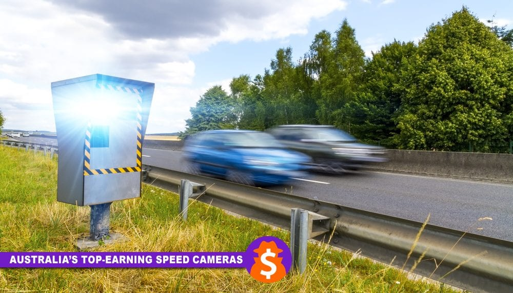 Australia's Top-Earning Speed Cameras